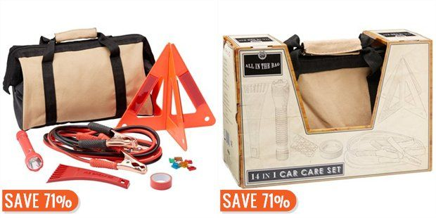 14 in 1 Car Emergency Kit