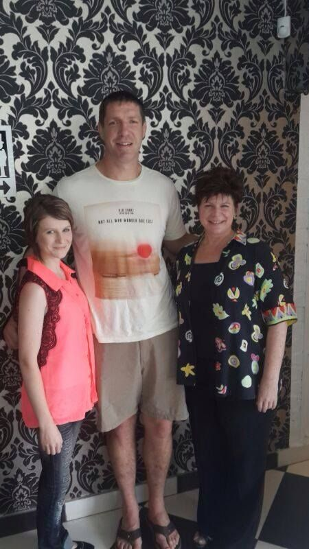 Bakkies Botha visits #Isabellas #Montana! Even Rugby players love our #Food and #Cakes