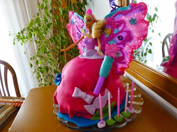 Έμπνευση και Δημιουργία, Barbie Cake Birthday