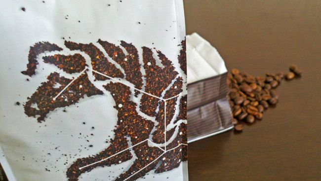 Dark Matter Coffee on Packaging of the World - Creative Package Design Gallery