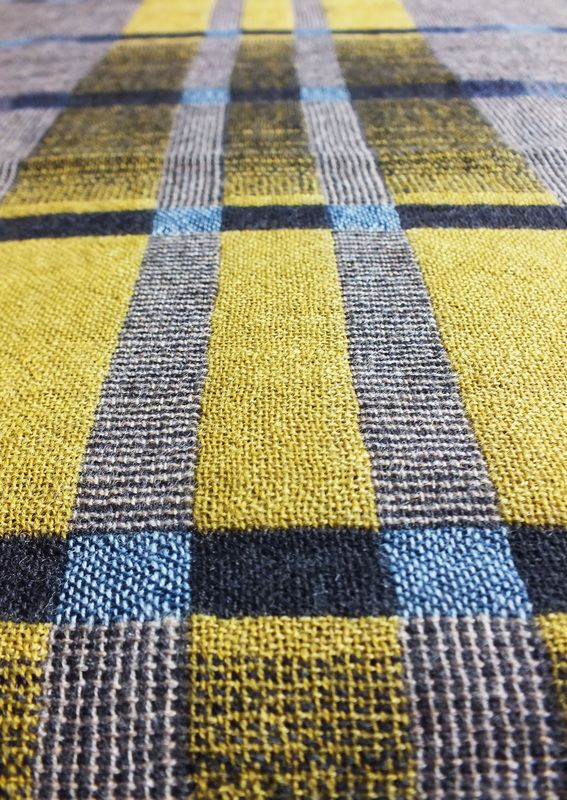 Amy Gair: Browns Road | Industrial North Collection | Shetland Islands wool | Scotland, U.K.
