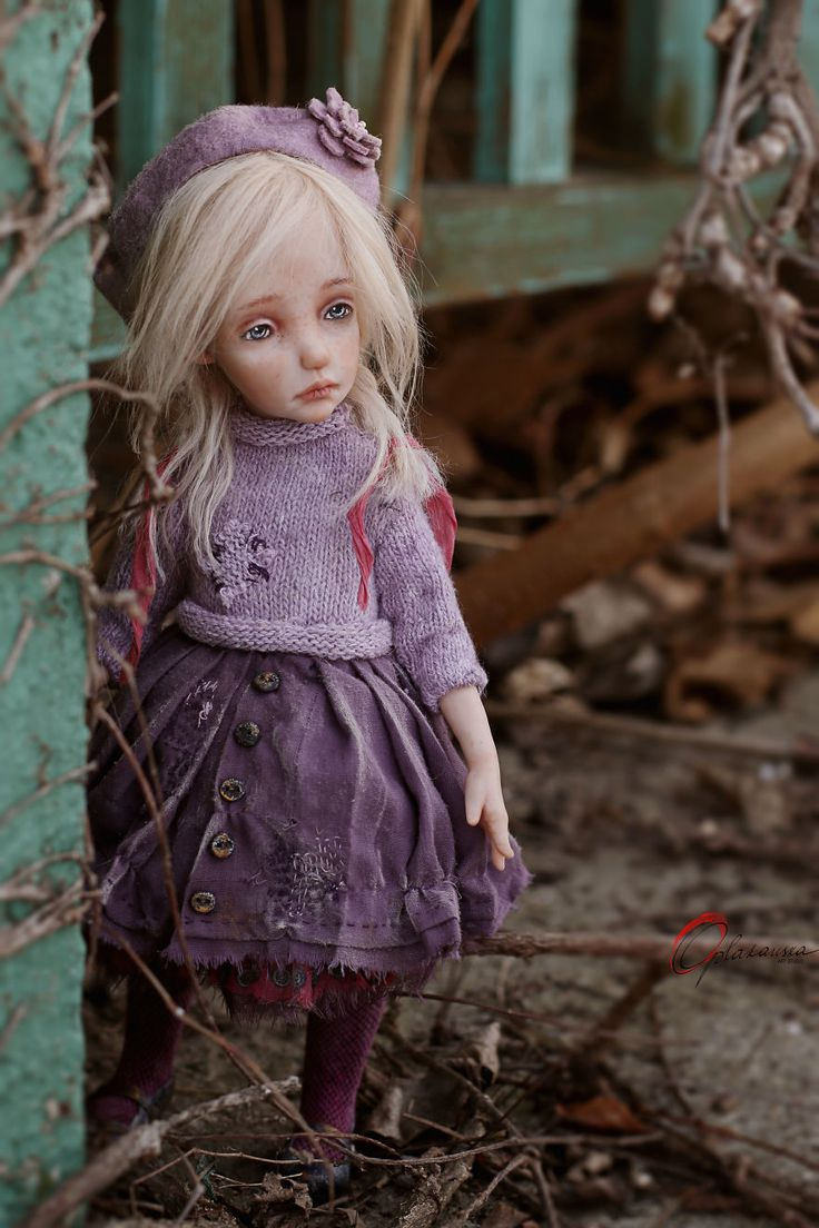 Dolls Are Mysterious And Unknown World. Art By Helena Oplakanska.