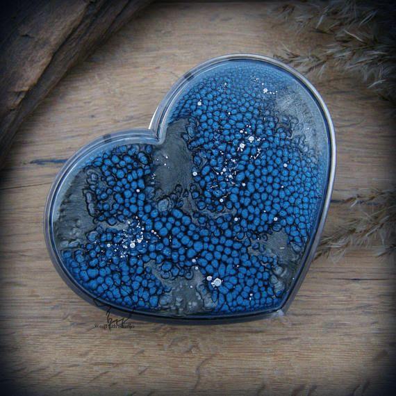 Night Dragon Skin heart plastic box dragon jewelry box