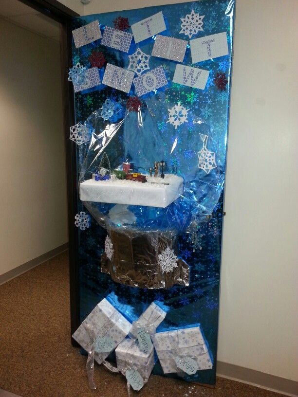 Ugly Christmas Sweater Door Decoration Ideas ...
