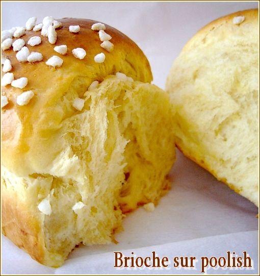 Brioche sur poolish - La petite pâtisserie d'iza