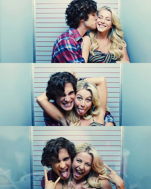 "Julianne & Diego Boneta, ""Rock of Ages"""