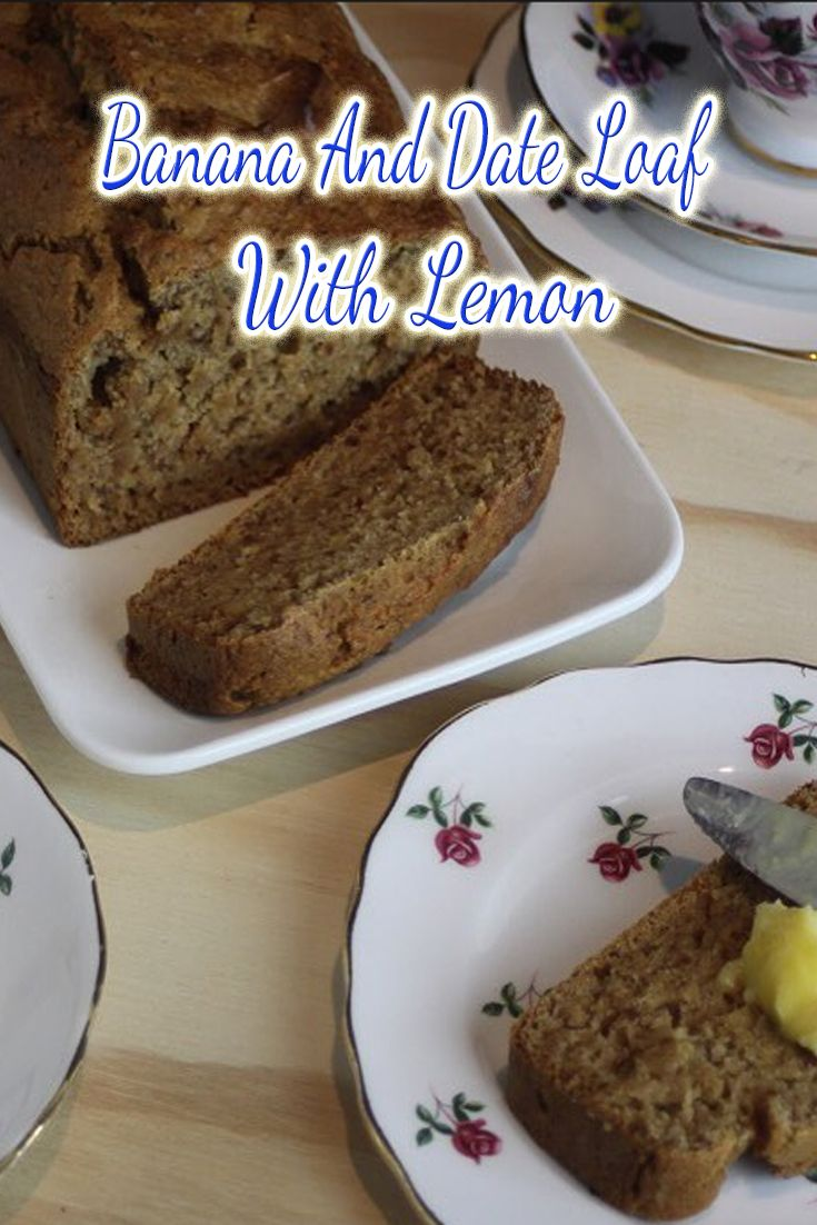 If you have a stack of bananas that need using up, try this Banana and Date Loaf, it's got a hint of lemon just to jazz it up and we love it!