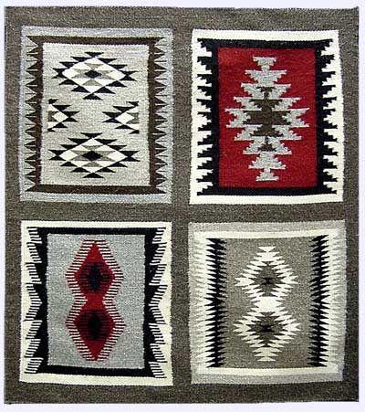 navajo+art   Sampler Rug by Suzie Mike (Navajo)