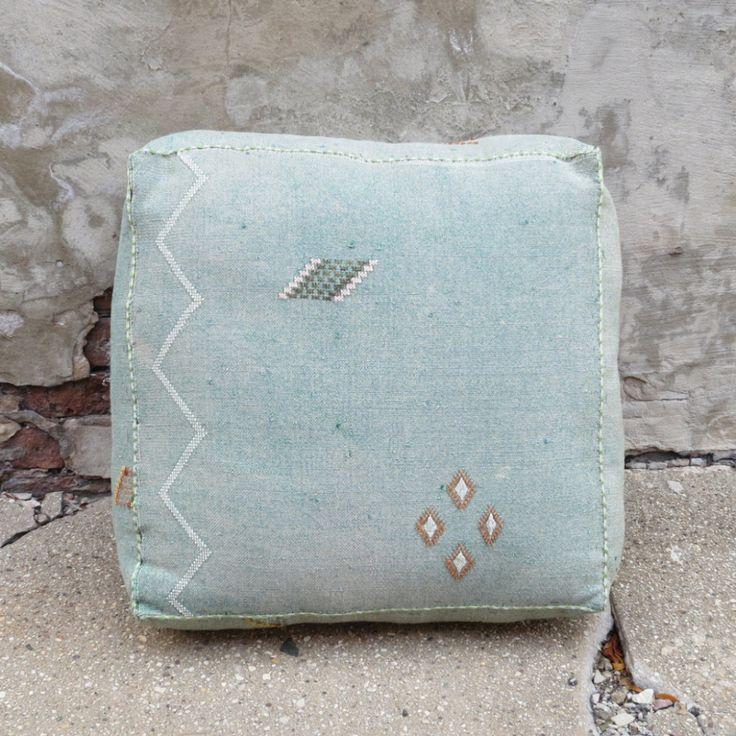 'Malibu Sky' Moroccan Floor Pillow   Maven Collection