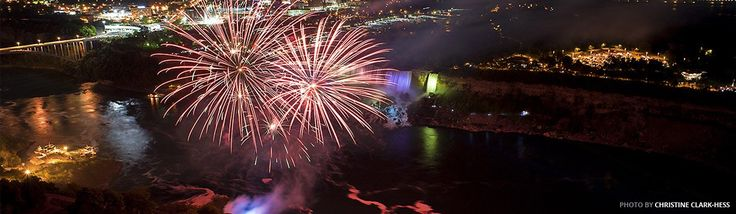 Get the full schedule for Niagara Falls fireworks right here. The quickest way to find out if there are fireworks tonight!