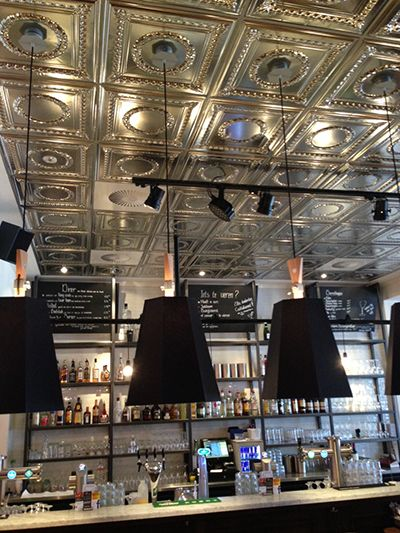 example of american tin ceiling panels at van buuren leiden the netherlands - American Tin Ceilings