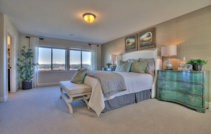 The Calming Colors Make This Bedroom The Perfect Place To