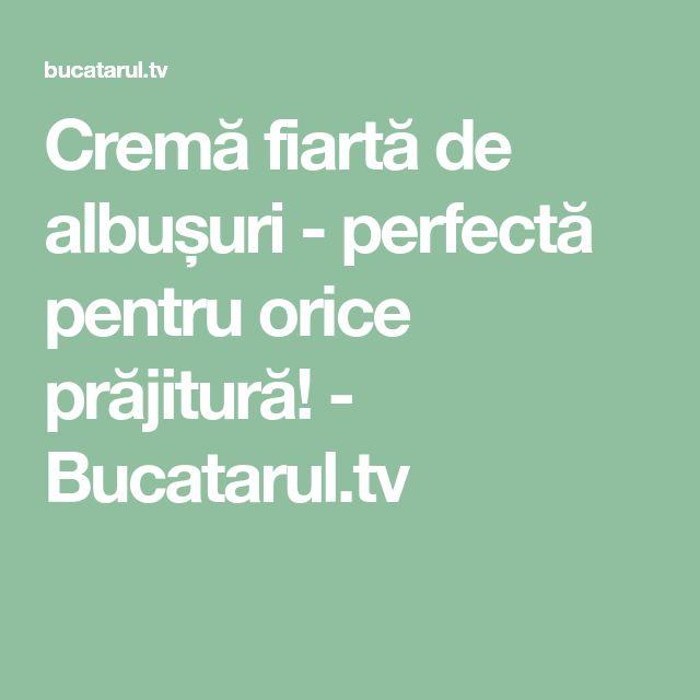 Cremă fiartă de albușuri - perfectă pentru orice prăjitură! - Bucatarul.tv