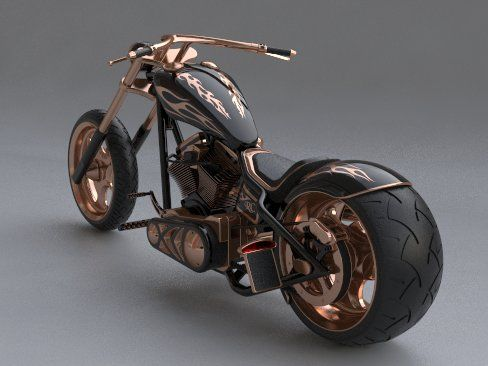 extreme chopper custom-bike-wale-Wallpapers 1