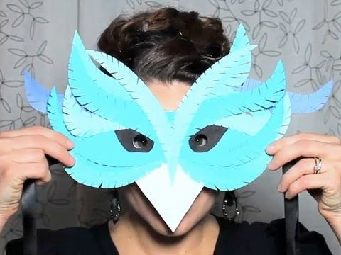 really love how detailed and intricate you can get with paper. In this video I show you how to use some basic paper cutting techniques to create your own fancy paper mask.