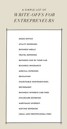 The Entrepreneur's Guide To Tax Season  |  The Fresh Exchange