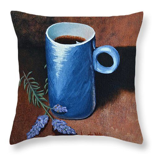 """Arty throw pillows, in different sizes, to add some 'je ne se qua' your home, from the bedrooms, dining room, lounge and study...or to spice up your office, waiting rooms and/or reception areas.  Click here -> http://leana-de-villiers.artistwebsites.com/products/relax-with-a-cuppa-java-leana-de-villiers-throw-pillow-14-14.html to place your order. """"Relax With A Cuppa Java"""" Throw Pillow 14"""" x 14"""" http://leanadevilliers.com/"""