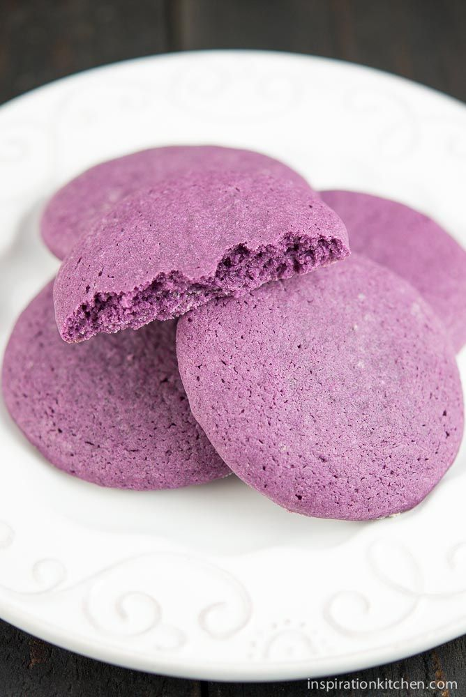 Purple Sugar Cookies | Inspiration Kitchen