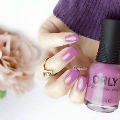 manicure con smalto orly