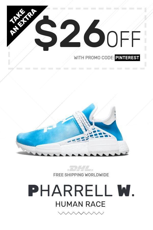 a1eb3bb3 Price of New Human Race Adidas HU Holi Blue / PW sneakers online #sneakers #