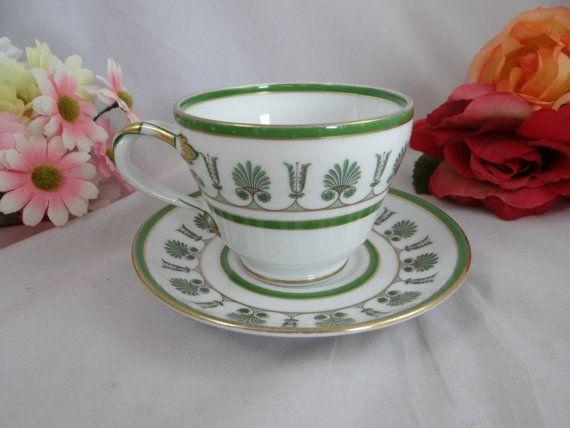 1960s Vintage Richard Ginori Large Teacup/Coffee by SecondWindShop, $15.00