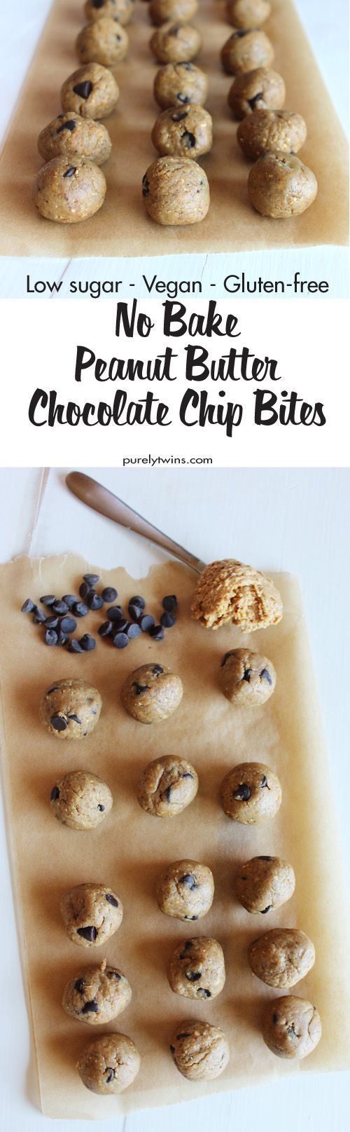 This simple and healthy no bake peanut butter protein energy balls recipe is perfect for easy snacking on-the-go! With protein powder, peanut butter, chocolate, chips, coconut milk and stevia, these energy balls will keep you satisfied for hours!