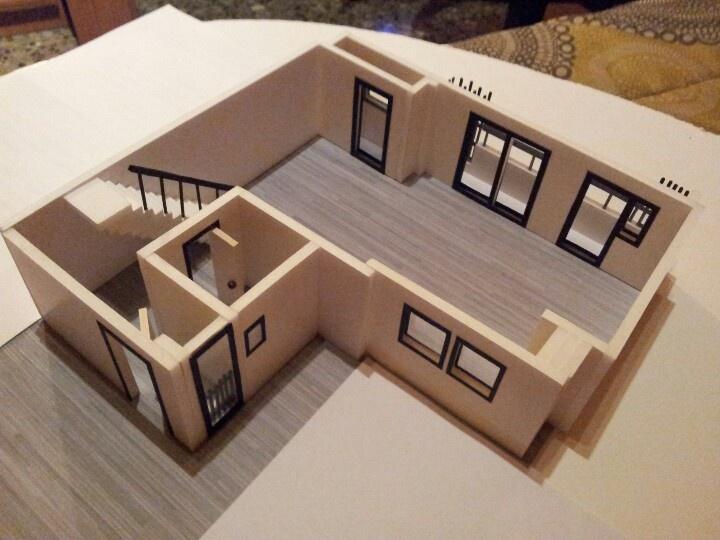 Maqueta casa | Proyectos que debo intentar | Maqueta
