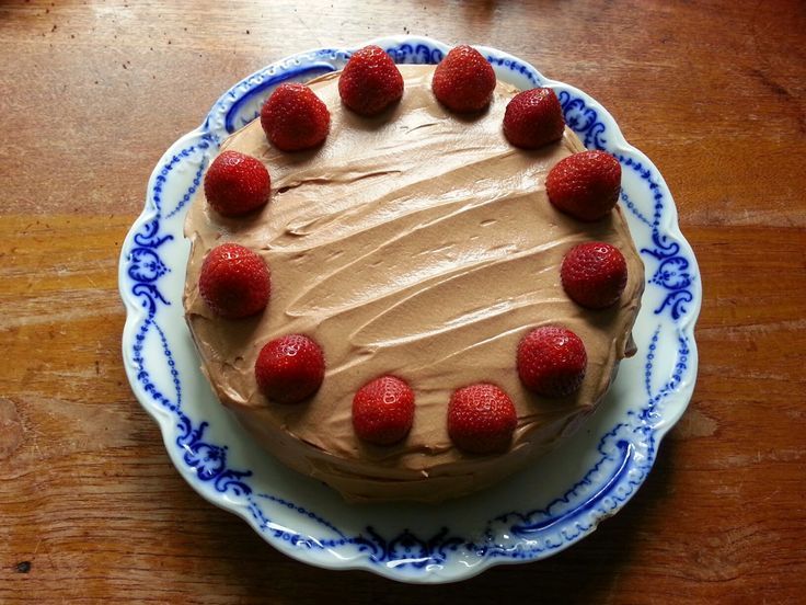 Kakelokket: Café Stings sjokoladekake