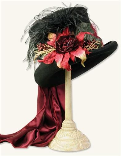 CHRISTMAS TOP HAT...Victorian Trading Company