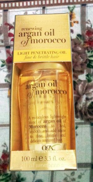 Organix Moroccan Light Argon Oil: Product Review