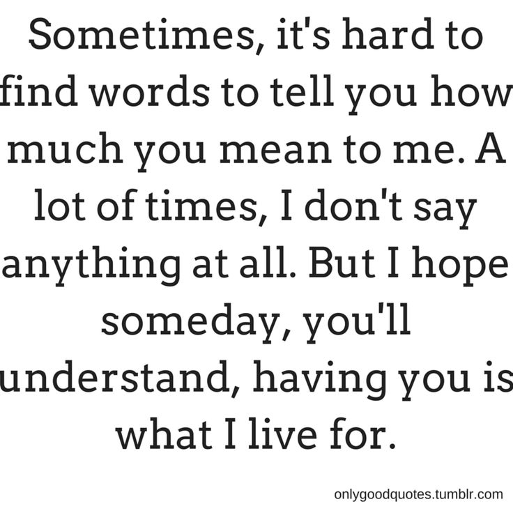 You Means Alot To Me Quotes Archidev