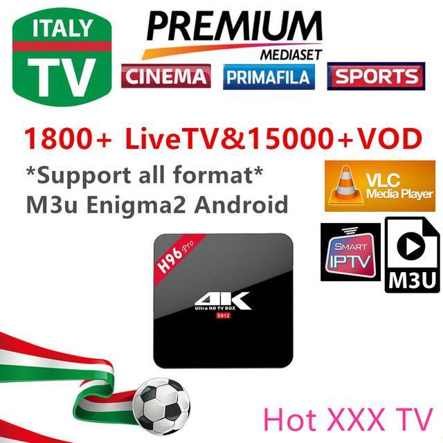 IPTV Enigma2 M3U per iptv Italia REGNO UNITO Germania