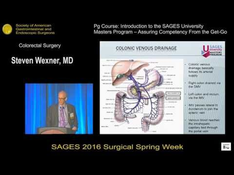 Colorectal Surgery - WATCH VIDEO HERE -> http://bestcancer.solutions/colorectal-surgery    *** colon cancer surgery ***   Presented by Steven D Wexner at the PG Course: Introduction to the SAGES University Masters Program – Assuring Competency From the Get-Go during the SAGES 2016 Annual Meeting. Video credits to the YouTube channel owner