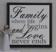 quotes about family for plaques - Google Search