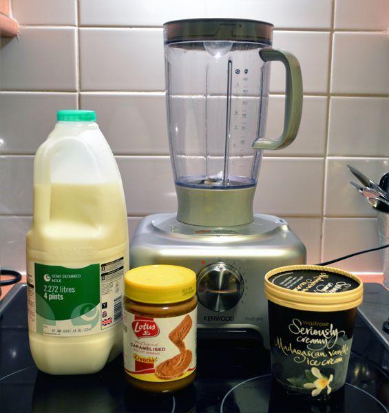 Lotus Caramelised Biscuit Milkshake Recipe | Sugar, Darling?