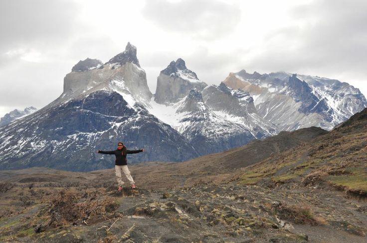 Latin America for Less Travel Advisor Silvana at Paine Mountain #Chile