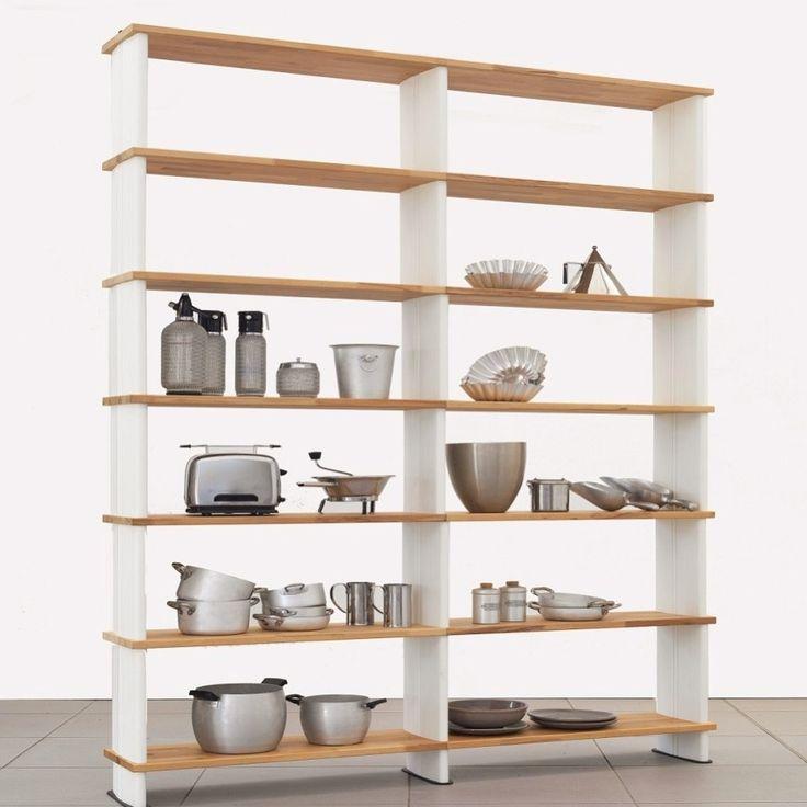 Nikka kitchen version bookshelves for every situation. #kitchen #kitchendesign #interiordesign #bookshelf