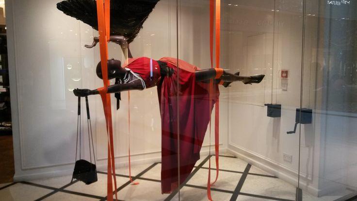 Flying mannequin