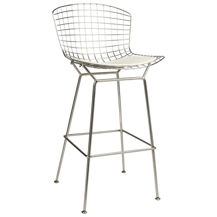 Bertoia wire bar stool bar stools stools commercial furniture kitchens pinterest - Bertoia wire counter stool ...