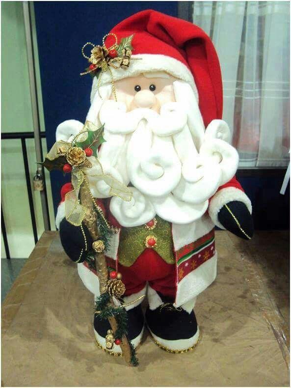 Santa elegante