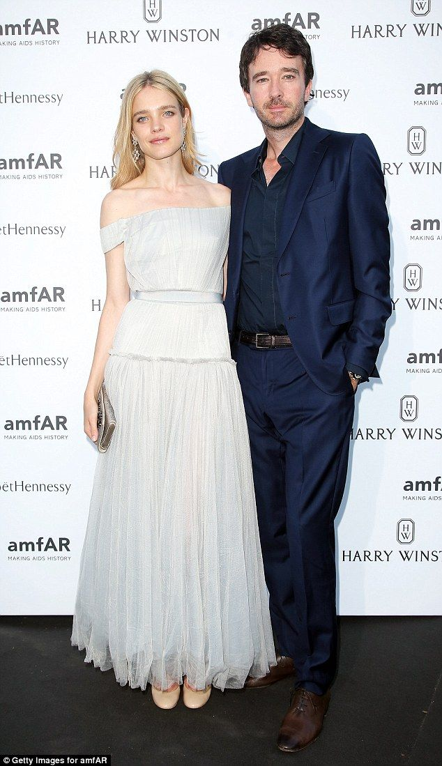 Ballerina beauty: Russian modelNatalia Vodianova and her husband Antoine Arnault looked l...