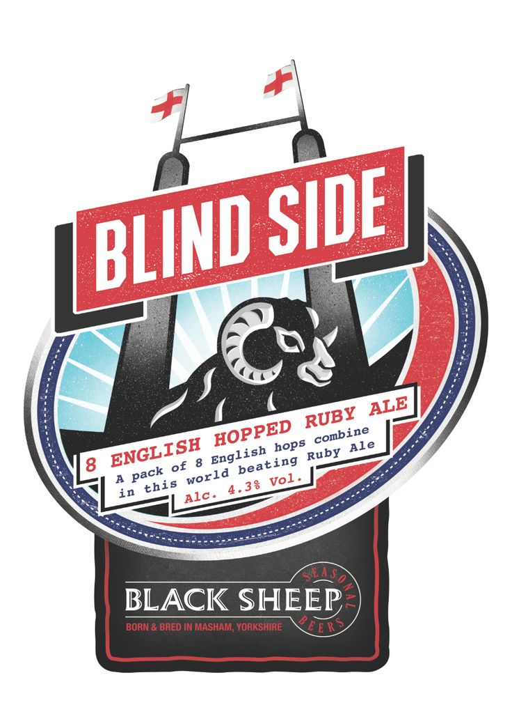 Black Sheep Brewery - Ruby Ale - Blind Side
