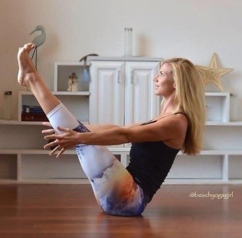 Комплекс упражнений силовой йоги для похудения. | 90-60-90 | Спортивные девушки