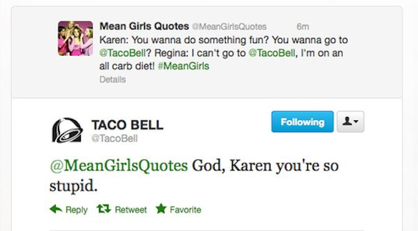 Refreshing look at how a Millennial brand uses Twitter: The Best Of Taco Bell's Twitter Account