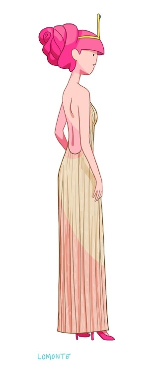 Princess Bubblegum - Reminds me of Florence and the Machine