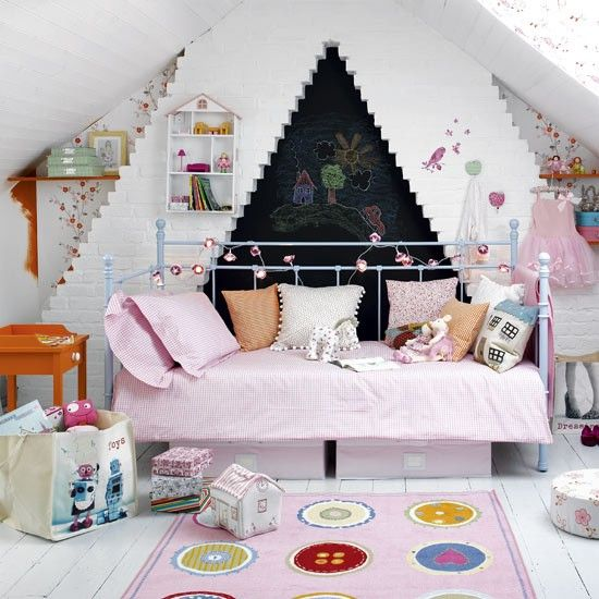 Wonderful Children Bedroom Ideas, For Sleeping But Still Suitable For Play  Area