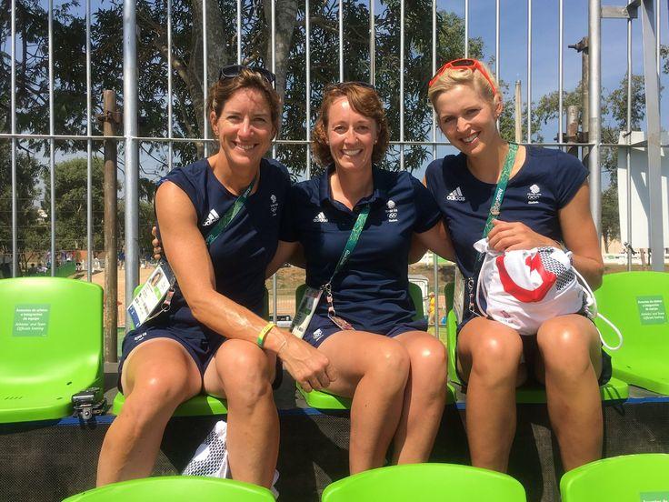Katherine Grainger, Kate Davis and Victoria Thornley