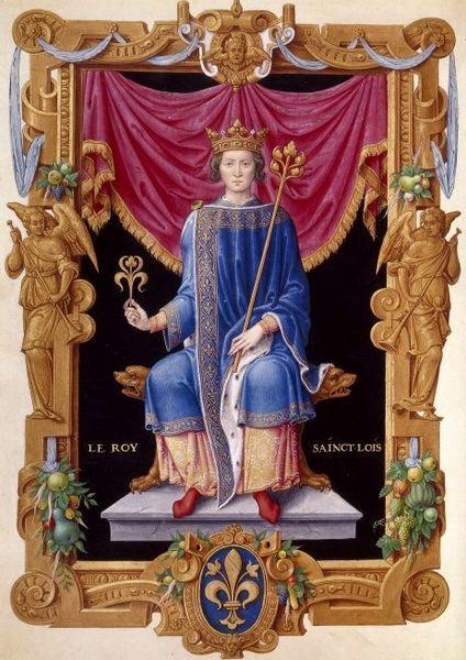 LOUIS IX  Tous les Rois de France