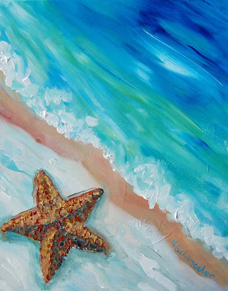 Image result for starfish painting