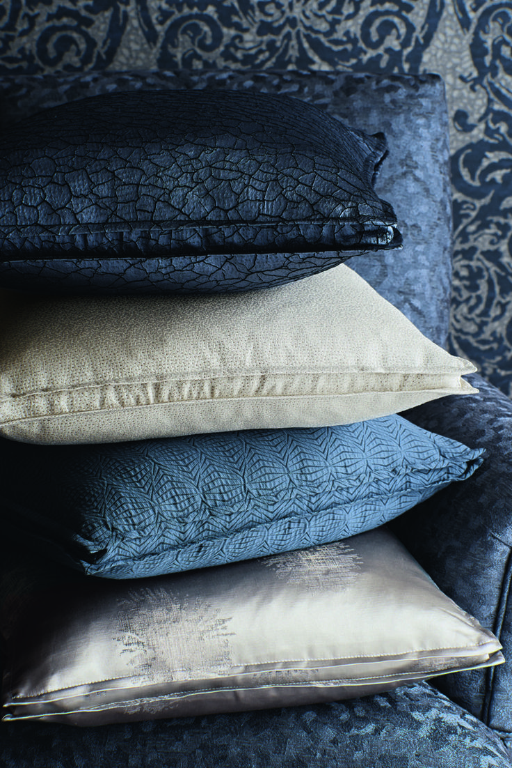 Cassia cushions by @Zoffany available from Rodgers of York #cushions #interiors